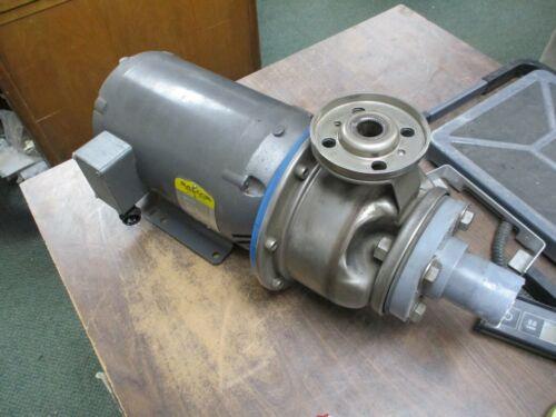 ITT G&L Model SST Pump w/ Motor 9ST55035 Size: 1x2-6 Baldor Motor Used