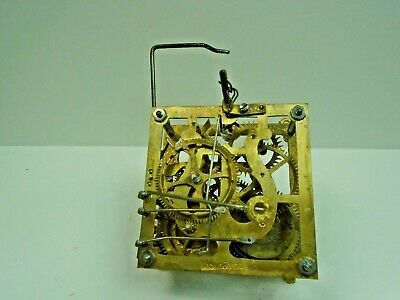 Lyre Cuckoo Clock Movement (FOR RESTORATION or PARTS ONLY) Lot B