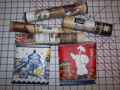 Pre-Pasted Various Wallpaper Border Rolls