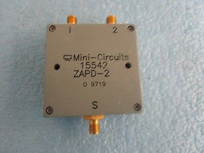 Mini-circuits 15542 Directional Coupler. Model Zapd-2