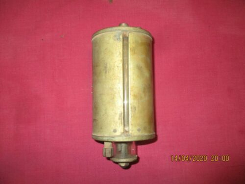 vintage stationery engine / tractor oil drip feed tin