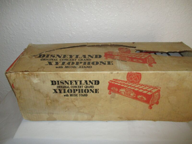 Disneyland Original Concert Grand Xylophone with stand
