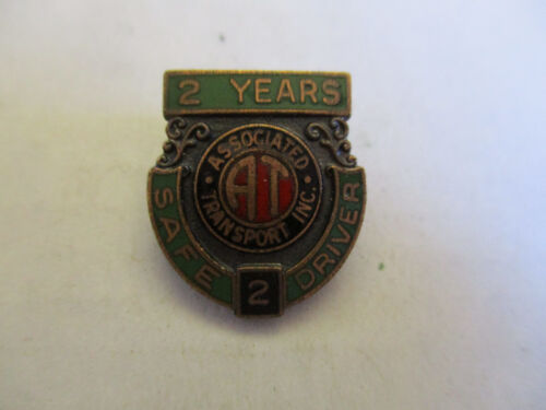 Association Transport 2yr Trucking Truck Driver Employee Safety Award Pin