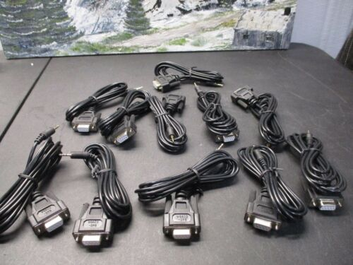 APC 940-0299A 2.5mm To Serial Db9 Female Console Cable  LOT OF 11