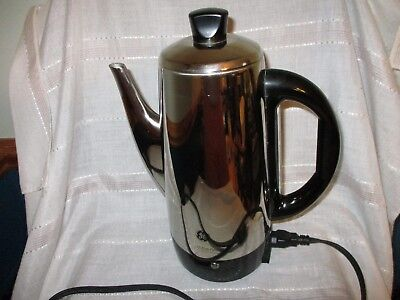 GE Model 106856R 12-Cup Stainless Steel Coffee Percolator