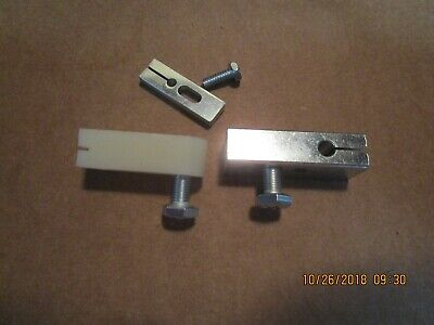Hobart Meat Saw Upper Lower Saw Guide W Filler Block Models 521455145614