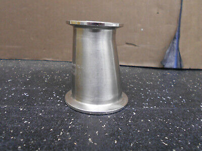 Stainless Steel Eccentric Reducer 2 X 1.5 Length 3