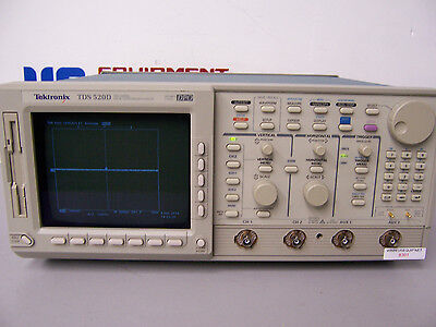8391 Tektronix Tds520d 2 Channel Digital Phosphor Oscilloscope 500 Mhz 2gss Dpo