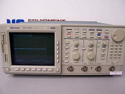 8391 Tektronix Tds520d 2 Channel Digital Phosphor Oscilloscope 500 Mhz 2gss Dpo