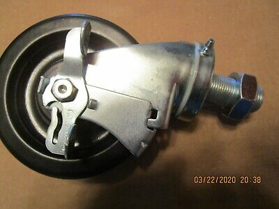 Hollymatic Mixergrinder 180a Swivel Locking Caster With Nut Oem 181-0500