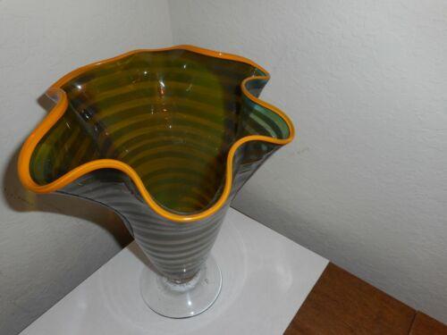 """Garcia Art Gallery, #2911, 9"""" Tall Vase"""