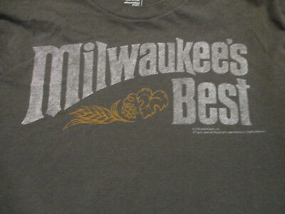 M gray MILWAUKEE'S BEST beer t-shirt by OLD NAVY - Miller Coors - 2009