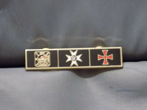 York Rite Lapel Tac Pin Mason Knights Templar Constantine Maltese Cross NEW!