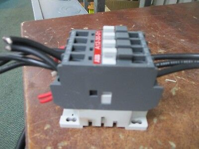 Abb Contactor A12-30-01 25a 600v 120v Coil Used