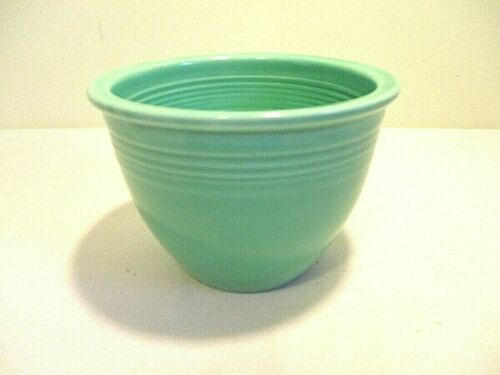 Fiestaware Vintage Green #1 Nesting/ Mixing Bowl Fiesta Homer Laughlin HLC