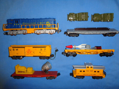 "American Flyer #20525 ""The Defender"" Diesel Freight Set. Runs Well. Excellent"