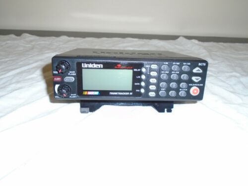 Uniden Bearcat BCT8 with 800 MHz TrunkTracker III -- Scanner -- NASCAR Edition