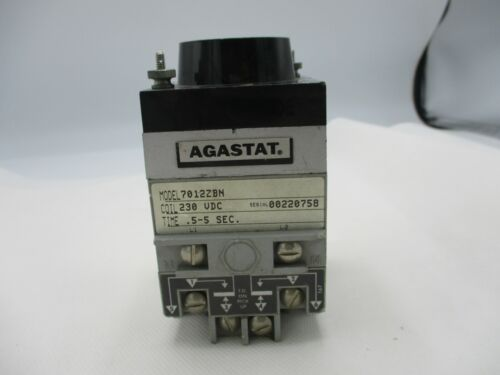 AGASTAT 7012ZBN TIMING RELAY 230V COIL