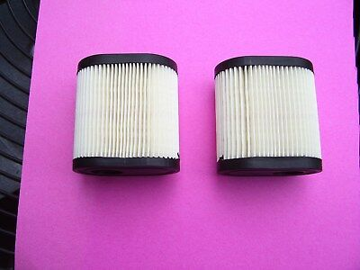 (2) AIR FILTER FOR TECUMSEH TORO RECYCLER 20016 20017 20018 36905 Stens 100-812
