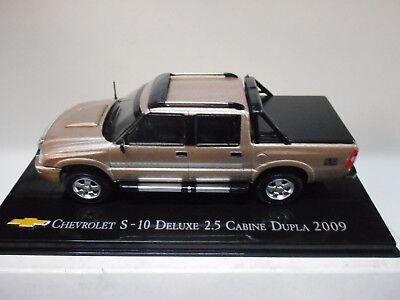 CHV 13 CHEVROLET S-10 DE LUXE 2.5 CABINE DUPLA 2009 BRASIL SALVAT 1/43 comprar usado  Enviando para Brazil