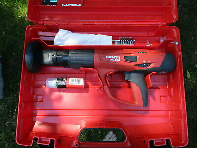Hilti Dx 460 Powder Actuated Fastening Tool W X-460-f8 Attachment Used