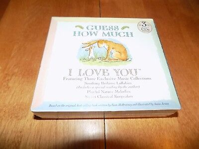 GUESS HOW MUCH I LOVE YOU Lullabies Nature Melodies Classic Songs 3 CD SET NEW