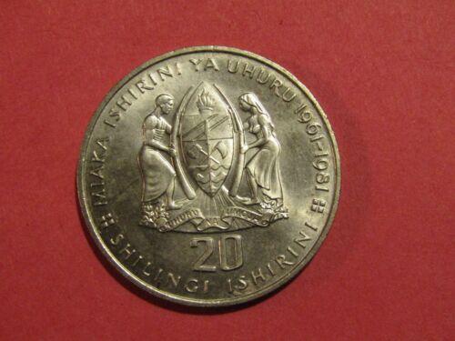 Tanzania 1981 20 Shilingi unc Coin