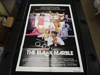 One Sheet Movie Poster The Black Marble 1980 Robert Foxworth Paula Prentiss