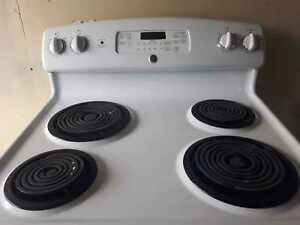 GE self-cleaning stove, free delivery