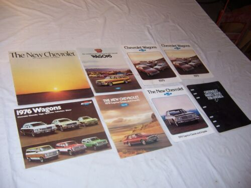 1976 - 1979 Chevy Dealer Brochures NOS