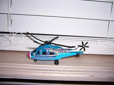 2001 Matchbox Rescue Helicopter 24/7 Metro 23 News E