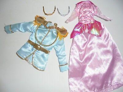 BARBIE DISNEY PRINCESS DRESS AND PRINCE SHIRT FASHION DRESS - Barbie Princess Dress