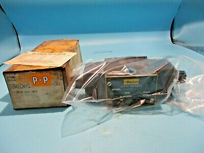 New Parker D3w1cnyc-30 Directional Control Solenoid Valve 110120v Coil