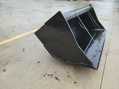 New 60 Wain-roy Style Backhoe Ditch Bucket To Fit 14 Yd Coupler W 1.75 Pin