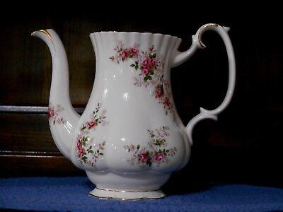 Royal Albert Coffee Pot Lavender Rose Bone China England Replacement
