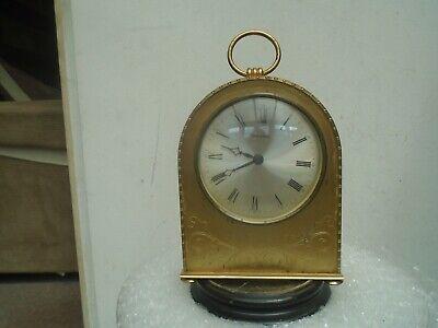 Stylish vintage/antique MAUTHE mantel/carriage clock UNUSUAL ATTIC FIND CLOCK