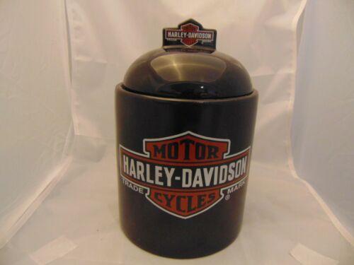 Harley Davidson Ceramic Cookie Jar