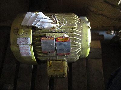 Baldor 15 Hp 3 Phase Te Electric Motor- Recon