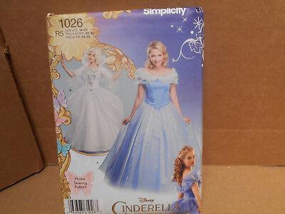 Cinderella Halloween Costume Pattern (Simplicity Disney Cinderella Halloween Costume Sewing Pattern R5 14-22)