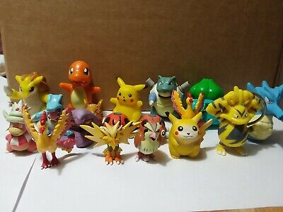 Lot of Collectible Pokemon Toys Keychains Figures