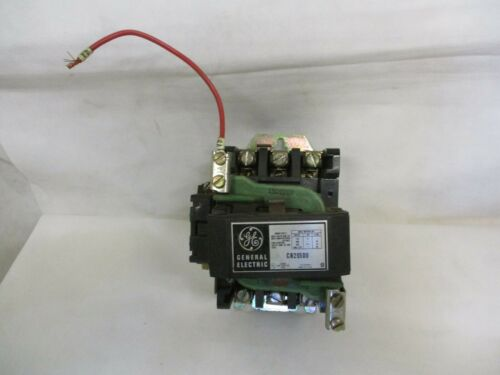 GE GENERAL ELECTRIC CR205D0 SIZE 2 MOTOR STARTER 95/115V COIL