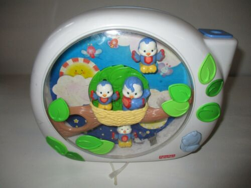 Fisher Price Flutterbye Dream Birds Crib Soother Baby Toy Lights & Sounds Work