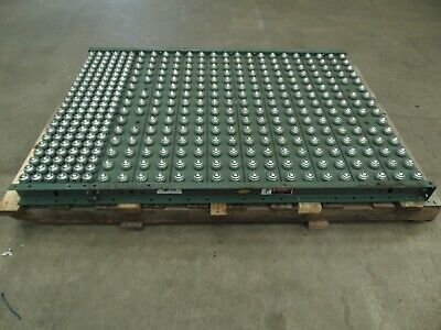 One Section Of Hytrol Gravity Ball Roller Conveyor Section 398 Balls