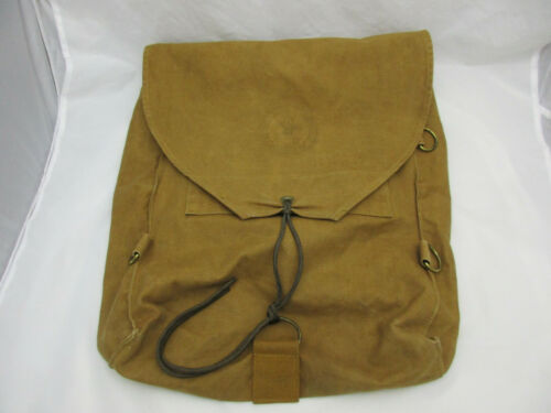 Vintage Boy Scouts of America Brown Backpack National Council New York City