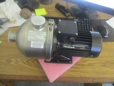Grundfos Chi12-10 A-b-g-bqqe Booster Pump. Model C 4f503470 P10117. New Old