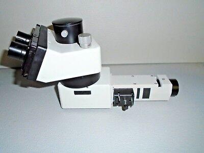 Leitz Labrolux 12 Pol S Vertical Illuminator And Trinocular Head