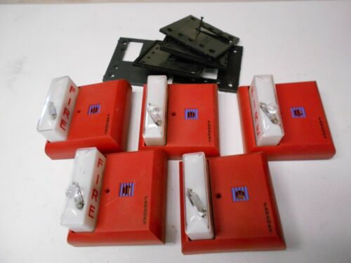 5 Faraday Fire Alarm Remote Strobe #6302-D used