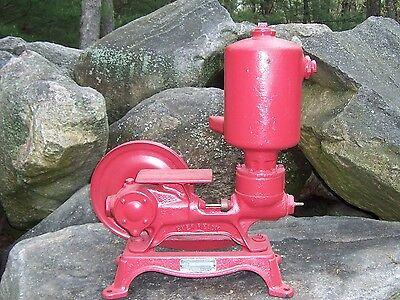 Antique Vintage Ever Ready Piston Pump Hit Miss Engine Era Steampunk Lamp