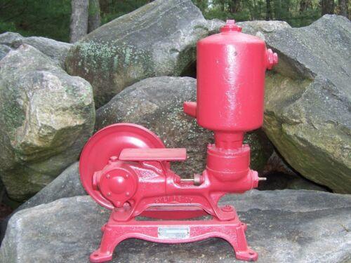 Antique Vintage Ever Ready Piston Pump Hit & Miss Engine Era Steampunk Lamp