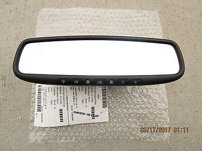 10-13 TOYOTA TUNDRA SR5 LIMITED PLATINUM REAR VIEW MIRROR BACK UP CAMERA DISPLAY